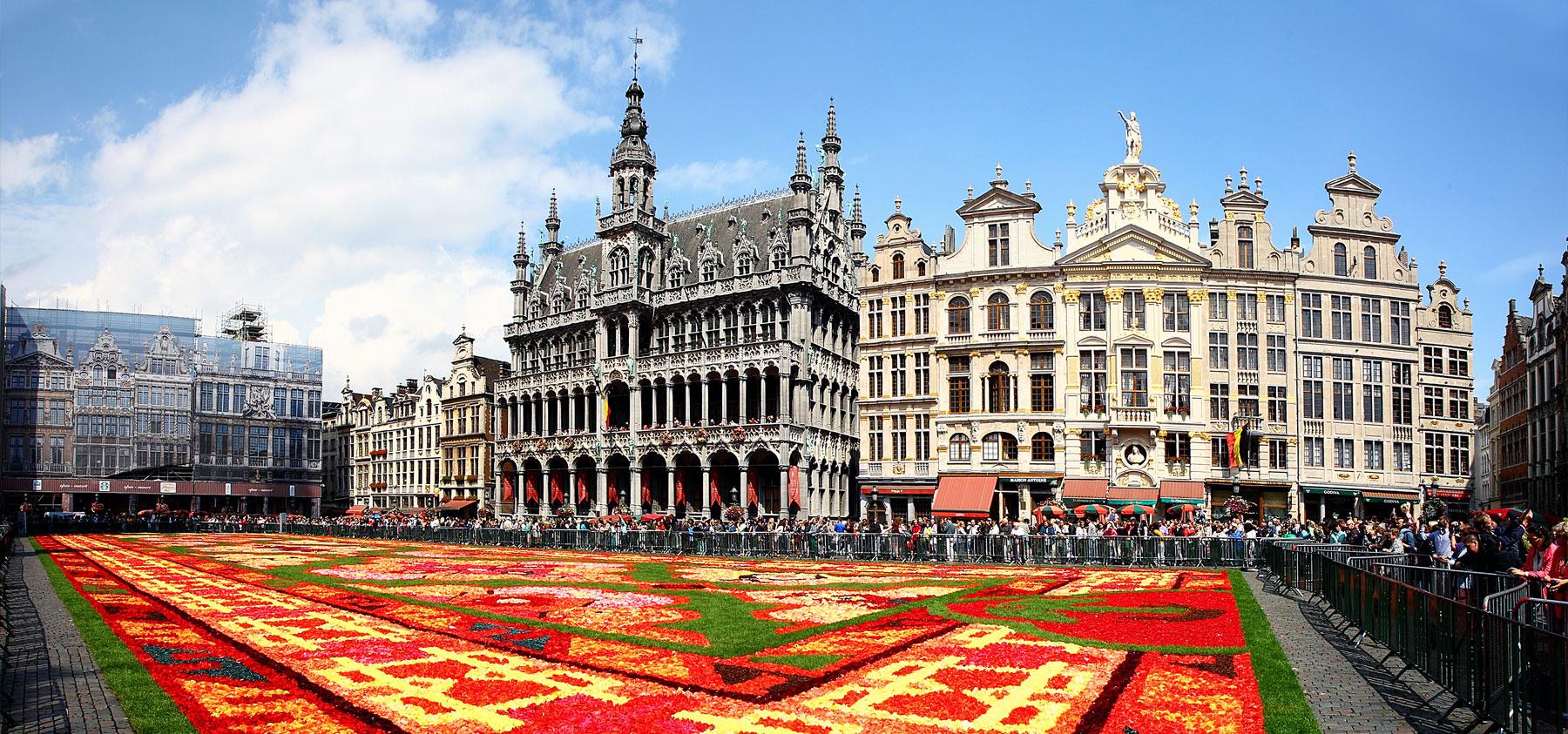 グラン=プラス フラワーカーペット ベルギー ブリュッセル