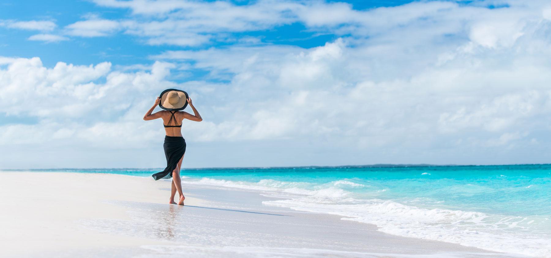 旅行 理想的なビーチ