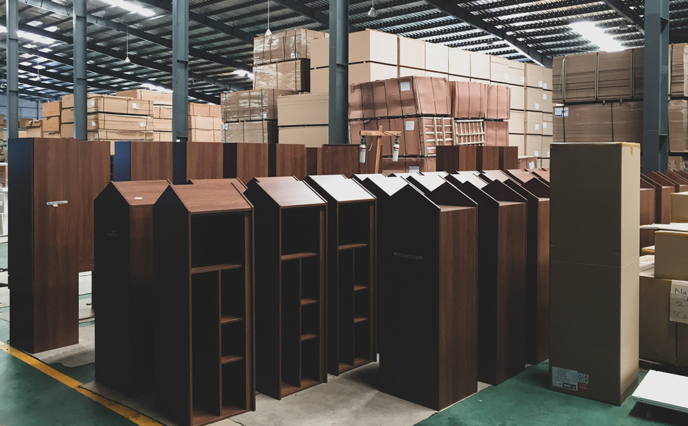 Furniture manufacturing warehouse in Vietnam